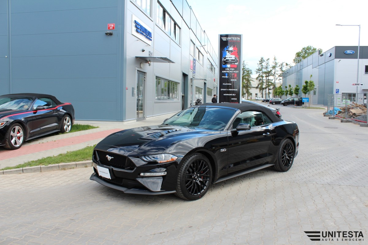 Unitesta 2019 Ford Mustang Gt Convertible Automatic 10 St 5 0 480 Ps Ruby Red