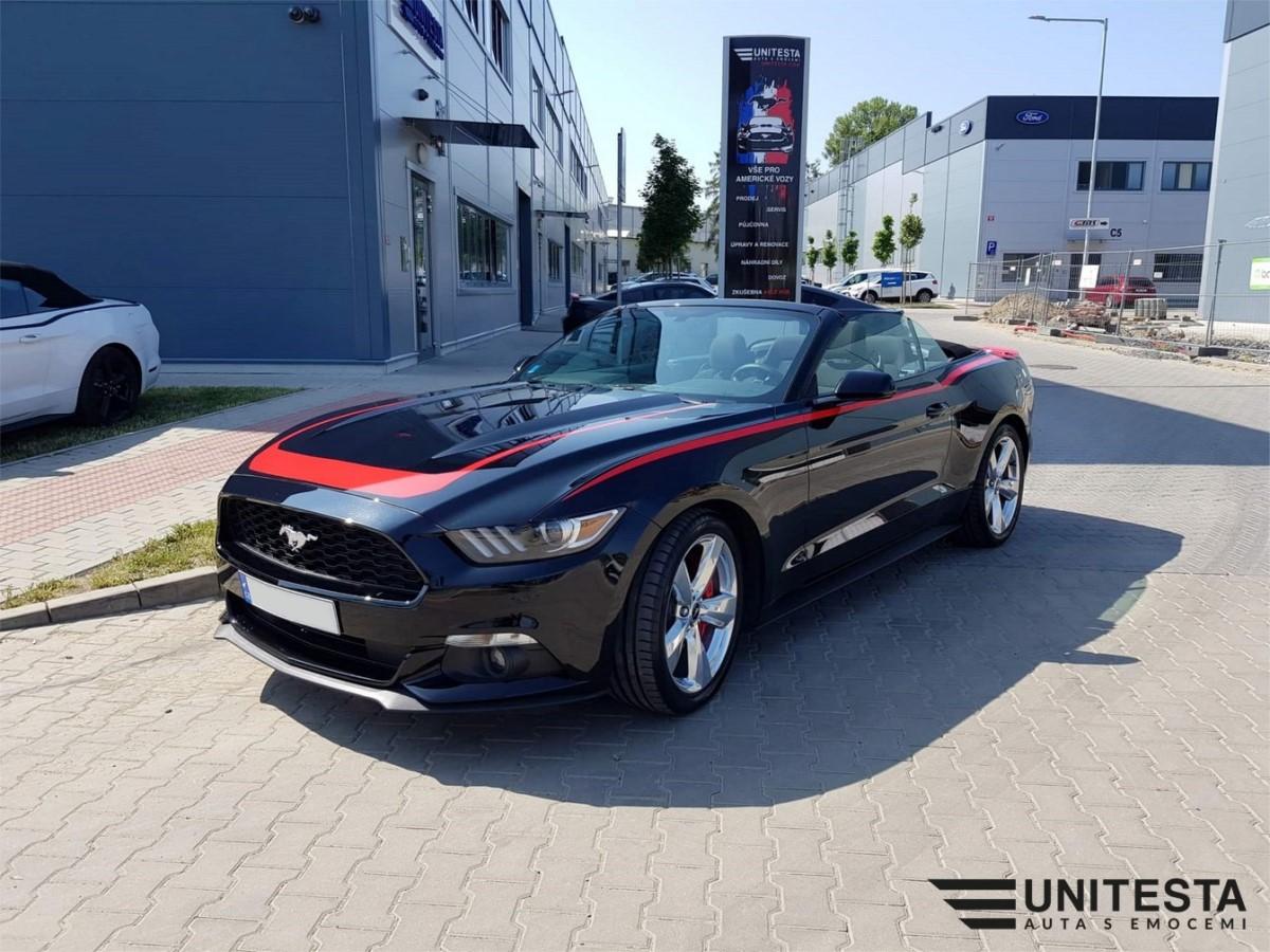 Unitesta 2017 Ford Mustang Convertible 3 7l V6 Black