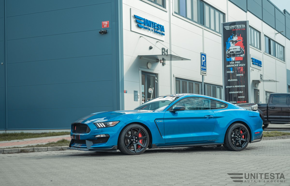 Unitesta 2019 Ford Mustang Shelby Gt350 R Perfomance Blue